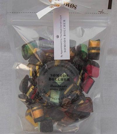 Blandede sorte bolcher 250g