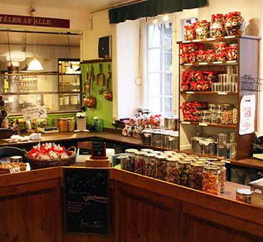 Butikken i Nørregade indeni